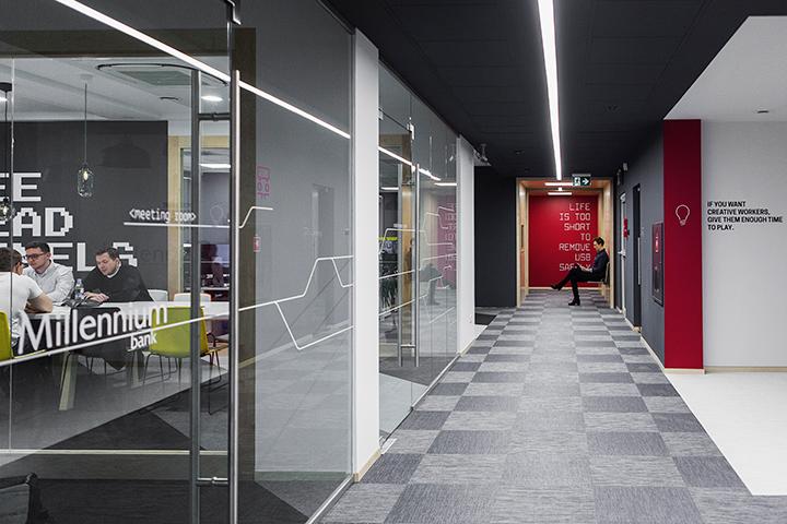 Biuro IT Millennium Banku w Gdańsku