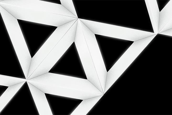 Lampa Triangle - wizualizacja