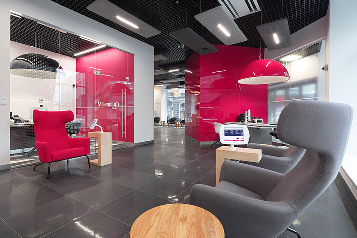 Placówka Banku Millennium w Katowicach